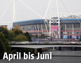 Das Cardiff Millenium Stadium