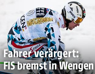 Hannes Reichelt beim Training
