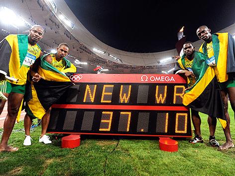 Jamaikas Staffel-Team