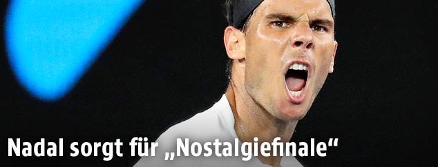 Jubel von Rafael Nadal