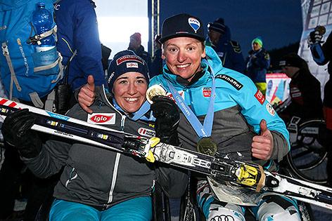 Claudia Loesch (AUT) und Markus Gfatterhofer (AUT)
