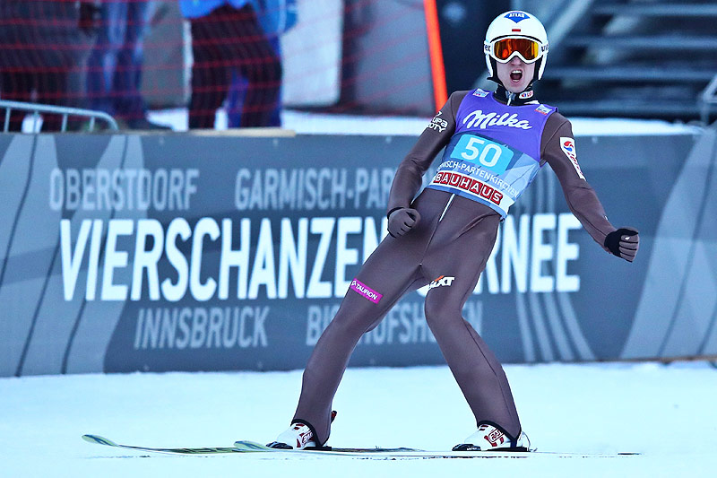 Jubel von Kamil Stoch