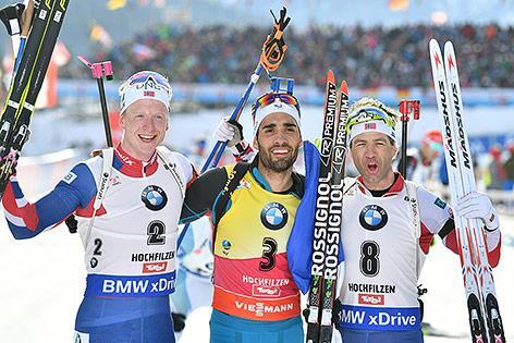 biathlon verfolgung herren heute