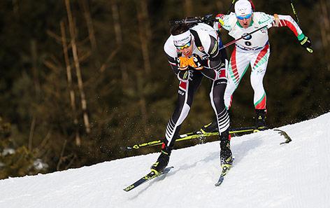 ÖSV-Biathlet Julian Eberhard