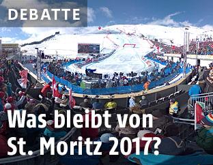 Zielraum in St. Moritz