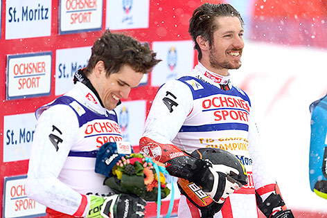 Roland Leitinger und Marcel Hirscher
