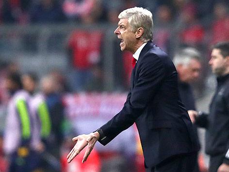 Arsenal-Coach Arsene Wenger