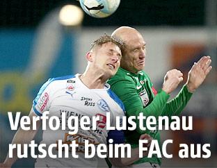 Sascha Viertl (FAC) und Mario Bolter (A.Lustenau)