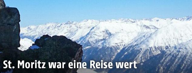 Gebirge in St. Moritz