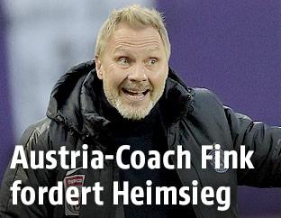 Austria-Trainer Thorsten Fink