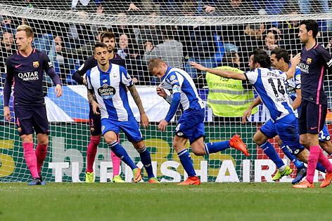 Sensation! Barça stolpert in La Coruña