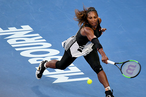 Serena Williams im Finale der Australian Open