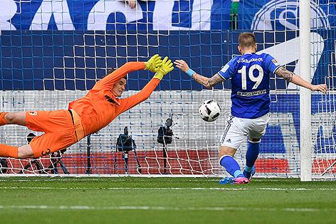 Bundesliga: Schalke schlägt Augsburg 3:0