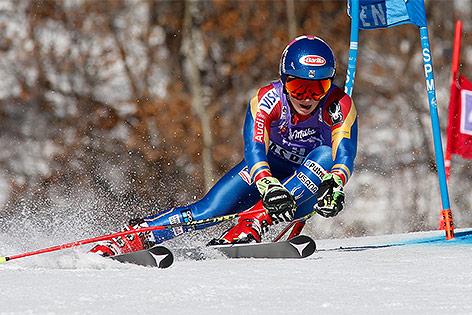 Tessa Worley beste Riesenslalom-Fahrerin des Winters