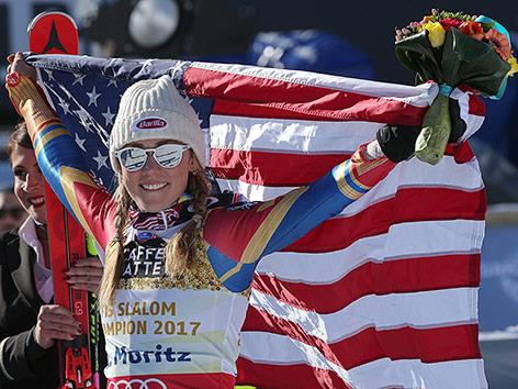Mikaela Shiffrin vorzeitig Gesamt-Weltcup-Siegerin