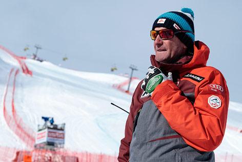 Sportlicher Leiter ÖSV Ski Alpin Herren Andreas Puelacher