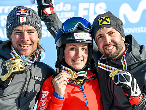 Benjamin Karl, Daniela Ulbing und Andreas Prommegger