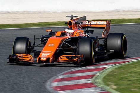 Stoffel Vandoorne (BEL/McLaren Honda)