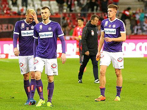 aphael Holzhauser (FK Austria Wien), Petar Filipovic (FK Austria Wien) und Marko Kvasina (FK Austria Wien)