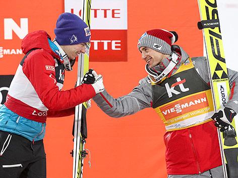 Stefan Kraft krönt sich in Planica zum Gesamt-Weltcupsieger