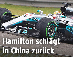 Lewis Hamilton im Grand Prix von Schanghai