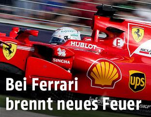 Sebastian Vettel beim Grand Prix von Australien