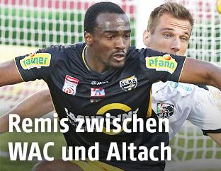 Szene aus dem Match WAC gegen Altach