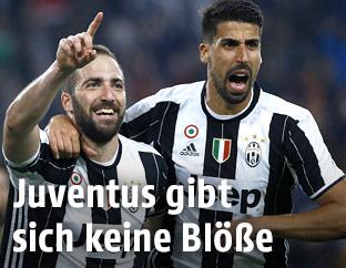 Jubel bei Juventus