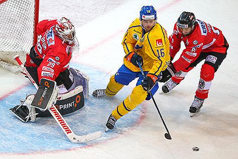 Bernhard Starkbaum (AUT), Emil Pettersson (SWE) und Dominique Heinrich (AUT)