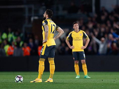 Ratlose Arsenal-Spieler