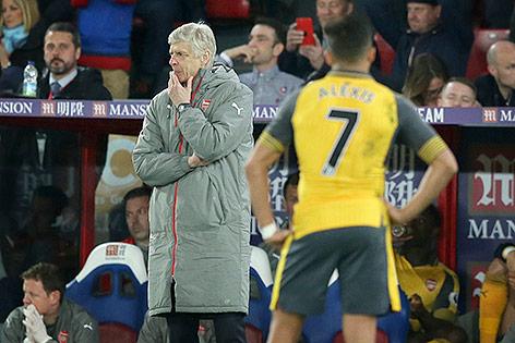 Coach Arsene Wenger (Arsenal)