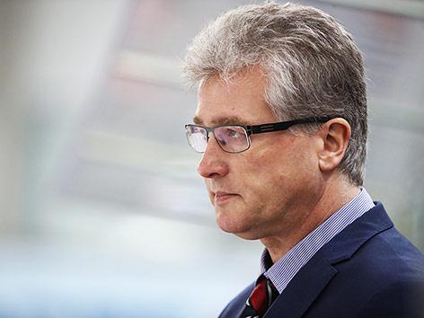 Trainer Roger Bader