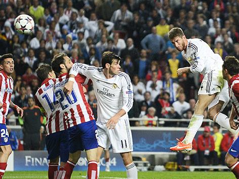 Sergio Ramos gleicht aus