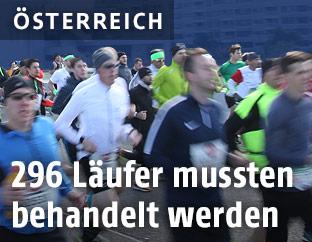 Teilnehmerfeld des Vienna City-Marathons
