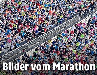 Teilnehmer des Vienna City Marathons 2017