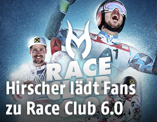 Flyer für Race Club