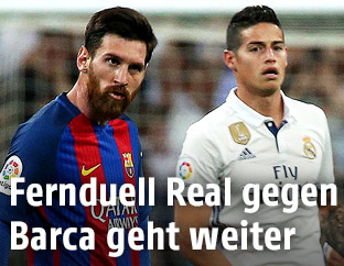Lionel Messi und James Rodriguez