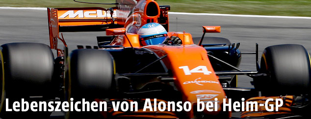 Fernando Alonso im McLaren