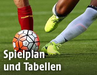 Fußballer-Beine