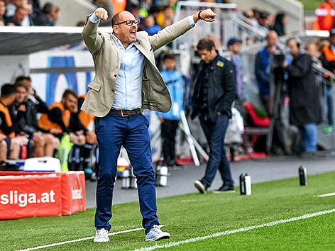Altach trennt sich von Trainer Scherb