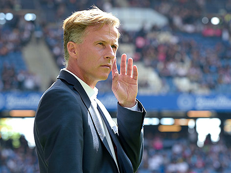 Wolfsburg-Coach Andries Jonker