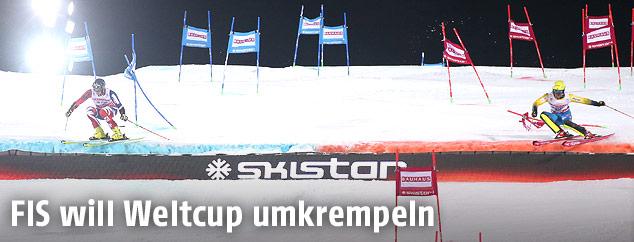 Parallel-Slalom in Stockholm