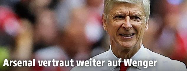 Arsenal-Coach Arsen Wenger
