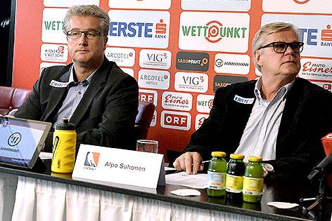 Roger Bader und Alpo Suhonen