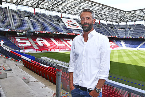 Salzburgs neuer Coach Marco Rose
