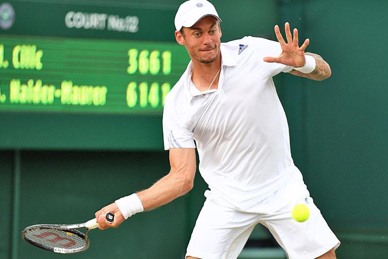 Andreas Haider-Maurer im Jahr 2014 in Wimbledon