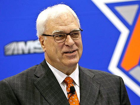 New-York-Knicks-Präsident Phil Jackson