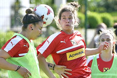 Training der ÖFB-Teamspielerinnen