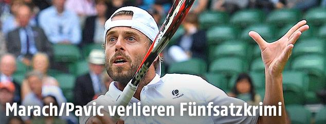 Spielszene Wimbledon Doppel Finale
