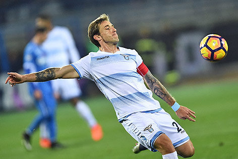 Lucas Biglia im Dress von Lazio Rom